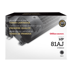 Clover Imaging Group™ 200827P Remanufactured High-Yield Black Toner Cartridge Replacement For HP 81X