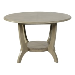 "Powell Brenter Dining Table, 30"" x 47-15/16"", Driftwood Gray"