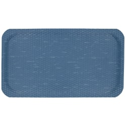 "Hog Heaven Marble Top Floor Mat, 5/8"" Thick, 4' x 6', Blue Merle"