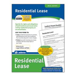 Adams® Residential Lease