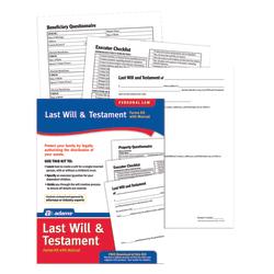 Adams® Last Will & Testament Kit