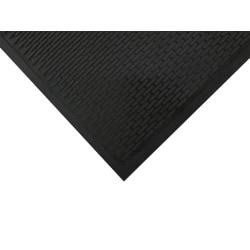 """SuperScrape Floor Mat, 2' 6"""" x 3', Black"""