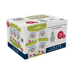Skinny Pop Salted Popcorn, Box Of 28 Packs