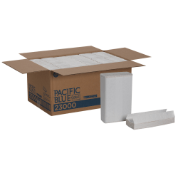 Pacific Blue Select by GP Pro Premium 2-Ply Paper Towels, C-Fold, White, 120 Towels Per Pack, 12 Packs Per Case