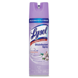 Lysol® Disinfectant Aerosol Spray, Early Morning Breeze Scent, 19 Oz