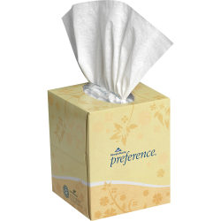 Georgia-Pacific Preference® Facial Tissue, 100 Sheets Per Box