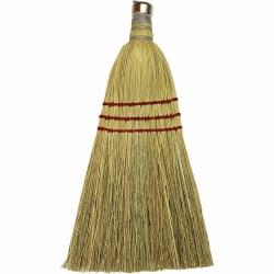 Genuine Joe Whisk Broom - 1 Each - Natural