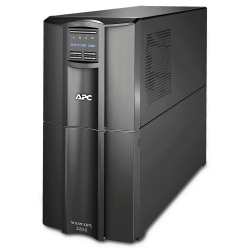 APC® Smart-UPS 10-Outlet Tower With SmartConnect, 2,200VA/1,920 Watts, SMT2200C