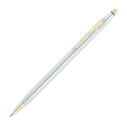 Cross® Medalist® Classic® Century® Ballpoint Pen, Medium Point, 1.0 mm, Chrome Barrel, Black Ink