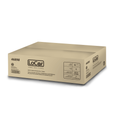 """LoCor® Hard Wound Roll Towels, 7"""" x 850', White, Pack Of 6 Rolls"""