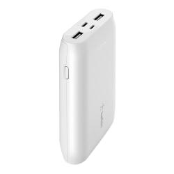 Belkin® Boost Charge 10K Multi-Port Power Bank, White