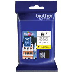 Brother Innobella LC3019Y Extra-High-Yield Yellow Ink Cartridge
