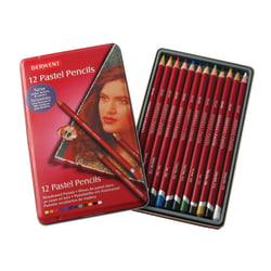 Derwent Pastel Pencil Set, Assorted Colors, Set Of 12 Pencils
