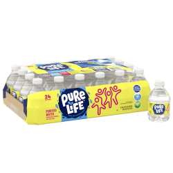 Nestlé® Pure Life® Purified Water, 8 Oz, Case of 24 bottles