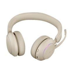 Jabra Evolve2 65 Headset - Stereo - Over-the-head - Binaural - Beige