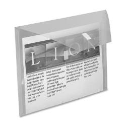 "LION Weatherproof Poly Envelope, 8-1/2"" x 11"""