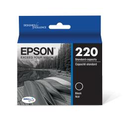 Epson® DuraBrite® Ultra Ink Cartridge, Black, T220120-S