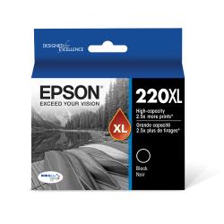 Epson® 220XL DuraBrite® Ultra High-Yield Black Ink Cartridge, T220XL120-S