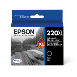 Epson® DuraBrite® T220XL120-S Ultra High-Yield Black Ink Cartridge