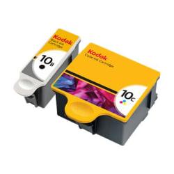 Kodak® 10B + 10C Black/Color Ink Cartridge, Pack Of 2