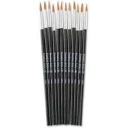 CLI Size 4 Water Color Pointed Brushes - 1 Brush(es) - No. 4 Hardwood - Aluminum Ferrule