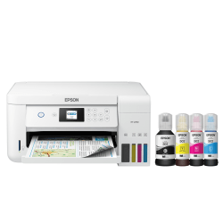 Epson® Expression® ET-2760 EcoTank Wireless InkJet All-In-One Color Printer