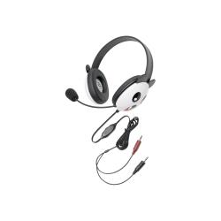 Califone Listening First Kids Stereo Headphones with Panda Design