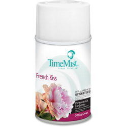 TimeMist Metered 30-Day French Kiss Scent Refill - Aerosol - 6.6 fl oz (0.2 quart) - French Kiss - 30 Day - 12 / Carton - Long Lasting, Odor Neutralizer