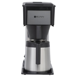Bunn® BTX ThermoFresh 10-Cup Thermal Coffee Brewer, Black/Stainless Steel