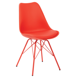 Ave Six Emerson Student Side Chair, Red