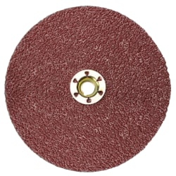 Cubitron II Fibre Discs 982C, Precision Shaped Ceramic Grain, 9 in Dia., 36 Grit