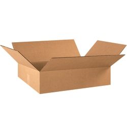 """Office Depot® Brand Corrugated Boxes, 6""""H x 16""""W x 22""""D, Kraft, Pack Of 25"""