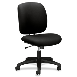 "HON® ComforTask Chair, 23""W x 27-13/16""D x 39-3/16""H, Black"