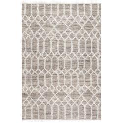 Anji Mountain Raani Jute And Wool Rug, 5' x 7', Brown/Ivory