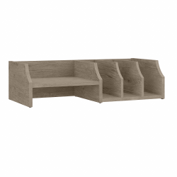 Bush Furniture Fairview Desktop Organizer With Shelves, Shiplap Gray, Standard Delivery