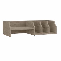 Bush Furniture Fairview Desktop Organizer With Shelves, Shiplap Gray, Standard Delivery