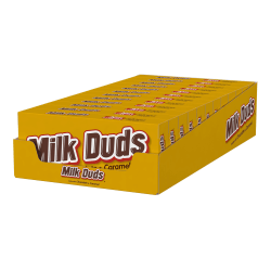Milk Duds Chocolate Candy, 5 Oz, Pack Of 12 Boxes