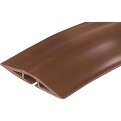 C2G 15ft Wiremold Corduct Overfloor Cord Protector - Brown - Brown