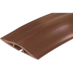 On-Q/Legrand Corduct 50' Overfloor Cord Protector, Brown - Brown