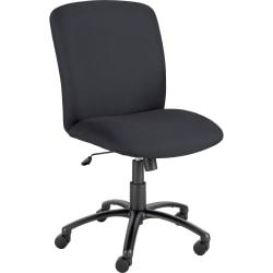 Safco® Uber Big & Tall Mid-Back Chair, Black