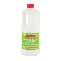 Scholastic Liquid Glue, 32.4 Oz, White