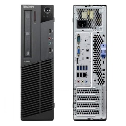 Lenovo® ThinkCentre® M92p 3218 SFF Refurbished Desktop PC, Intel® Core™ i5, 8GB Memory, 1TB Hard Drive, Windows® 10, M92P.I5.8.1.SFF