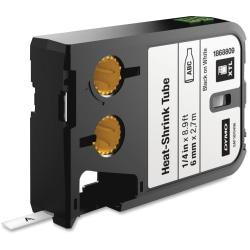 "DYMO® XTL Heat-Shrink Tube Cartridge, DYM1868809, 1/4""W x 106 19/64""L, Thermal Transfer, White, Polyolefin"