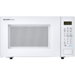 Sharp® Carousel 1.4 Cu Ft Countertop Microwave Oven, White