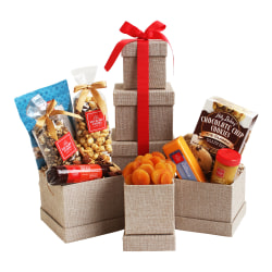 Givens Hickory Farms Sweet Savory Snack Gift Set