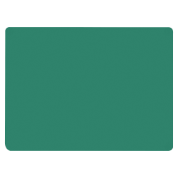 "Flipside Green Chalk Board - 36"" (3 ft) Width x 48"" (4 ft) Height - Green Surface - Rectangle - 1 Each"