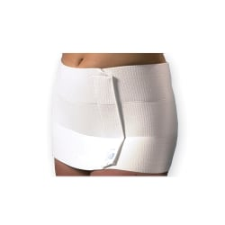 """Dale® Abdominal Binder With EasyGrip™ Strip, 9"""", Stretches 46""""-62"""""""