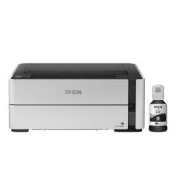 Epson® EcoTank® Supertank Wireless Monochrome (Black And White) Inkjet Printer ET-M1170