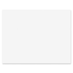 "Pacon® Peacock® Railroad Board, 22"" x 28"", 4-Ply, White, Carton Of 100 Sheets"