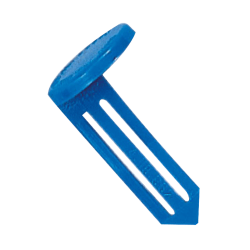 Control Group Vault Keyhole Signals, Blue, Pack Of 25 Keyhole Signals